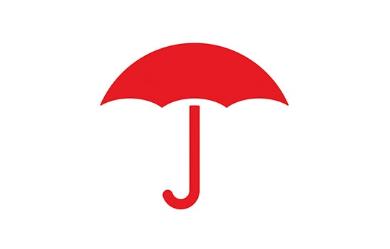 Insurance Company Umbrella Logo