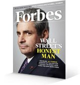 Forbes Magazine - Wall Streets Honest Man