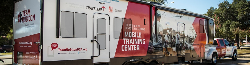 Team Rubicon trailer