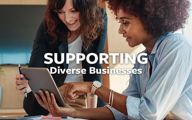 support diverse businesses