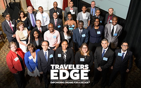 Travelers EDGE students