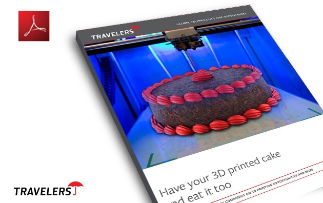 Cover of Travelers 3D printing white paper PDF