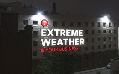Extreme weather and your business video