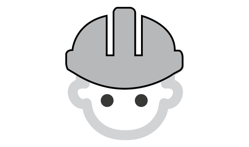 grey icon with man in hard hat