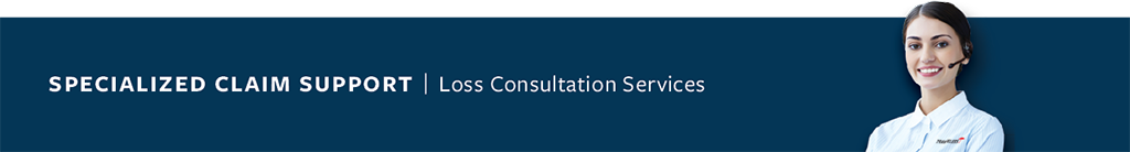 Specialized Claim Support Loss Consultation Services banner