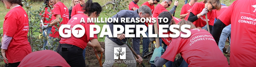 A million reasons to go paperless.