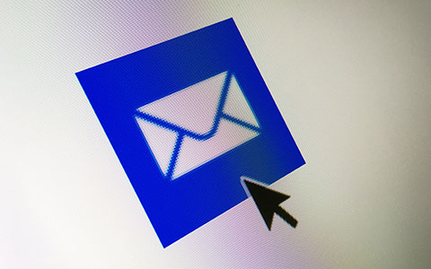 email icon for potential phishing email