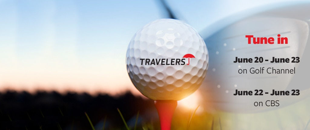Travelers Championship golf ball tune in