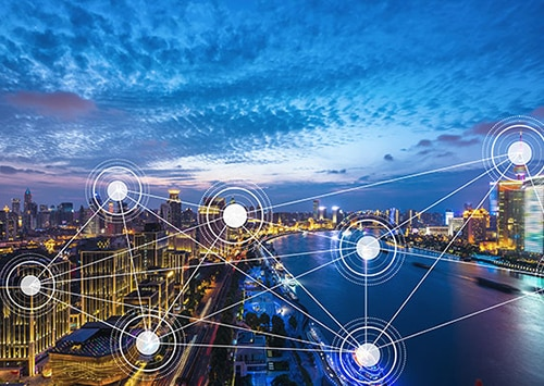 smart city and interconnected technology infrastructure