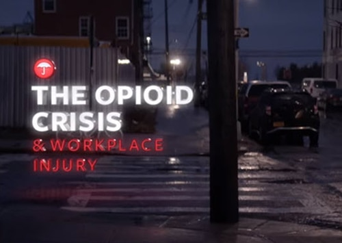 The opioid crisis and workplace injury