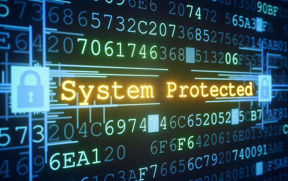 System protected from cyber extortion