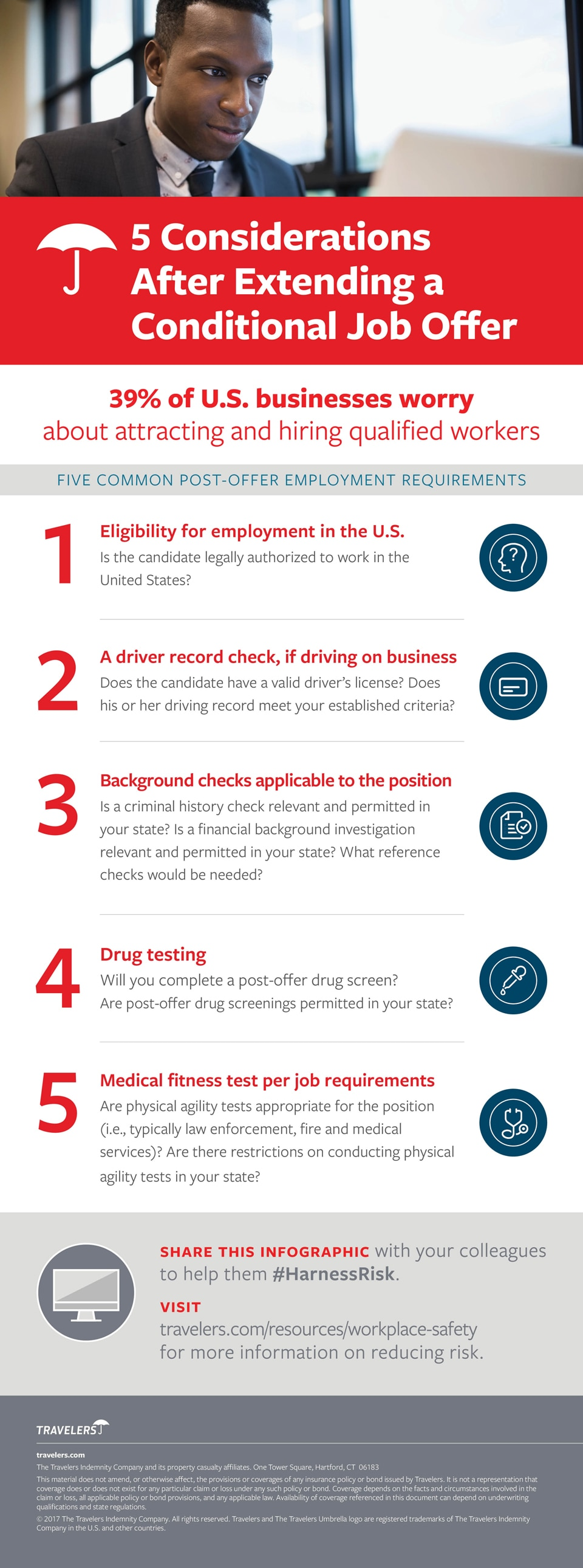 5 Considerations After Extending a Conditional Job Offer [Infographic]
