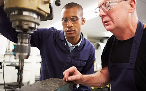 employer training new manufacturing talent