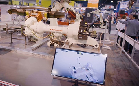 metals manufacturing & technology: scenes from fabtech [video]