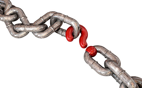 chain connected with question bottleneck