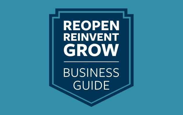 resources shield titled grow, reinvent, reopen