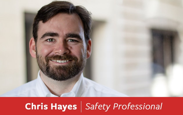 Safety Specialist Chris Hayes