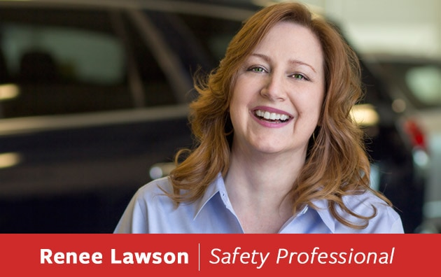 Safety Specialist Renee Lawson