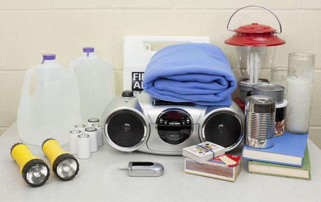 emergency preparedness kit as part of disaster preparedness