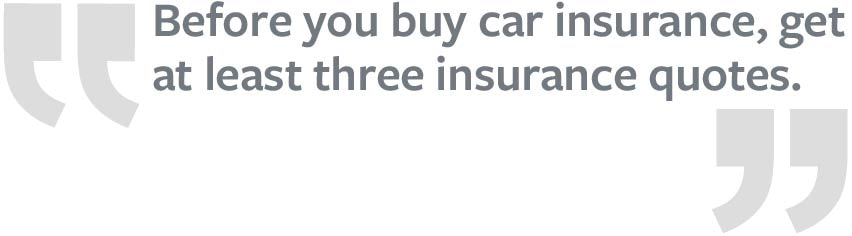 How to lower car insurance quote