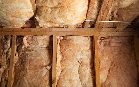 Insulation in a basement
