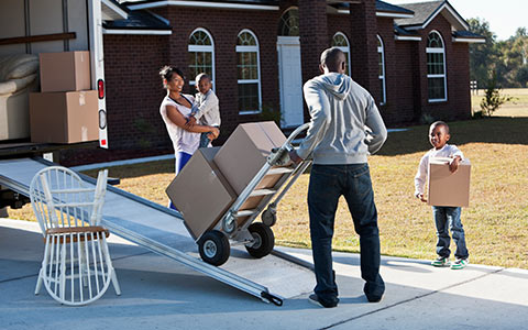 moving home agent