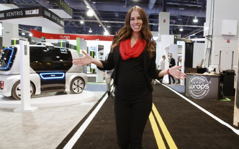 Stephanie Duchaine at CES 2019