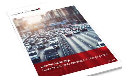 Autonomous vehicle white paper cover